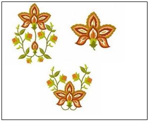 Autumn Florals Designs