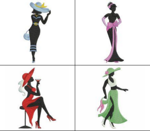 Fashion Girl Silhouettes