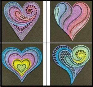 FSL Neon Heart