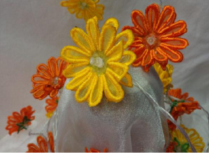Gerbera Daisy String Lights