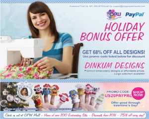 Holiday Bonus Offer