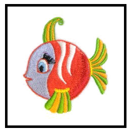 Free Fish Machine Embroidery Design