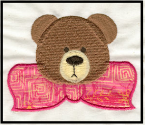 Free Teddy Embroidery Design