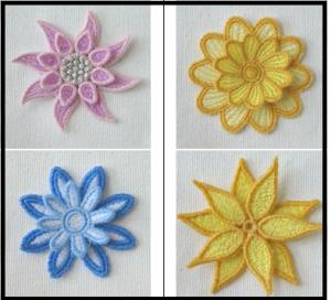 3D FSL flowers