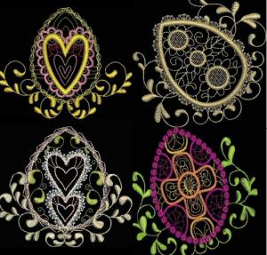Fabergé-like Eggs