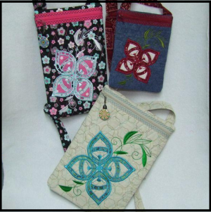 Face Zipper Purse