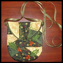 Quilt ITH HOLLY PURSE by Santi