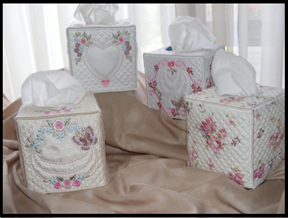 Heirloom Tissue Box Covers
