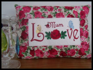 Love Rose Pillow