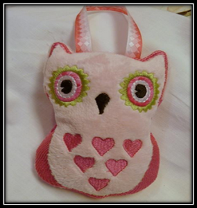 Heart Owl Gift Pocket