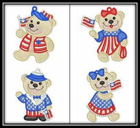 FSL Patriotic Bears
