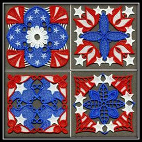 FSL Patriotic Coasters
