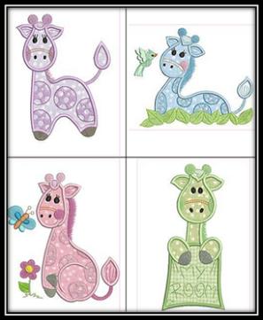 Giraffe-Babies
