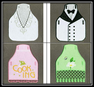 5 Adorable Apron Embroidery Designs For Kitchen Lovers Machine