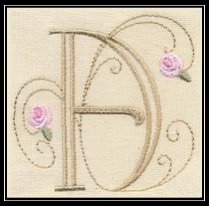 Bullion-Rose-Quilt-Monograms