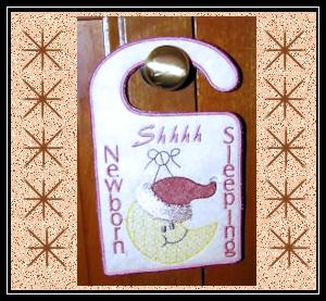 Newborn-Door-Hanger-Machine-Embroidery