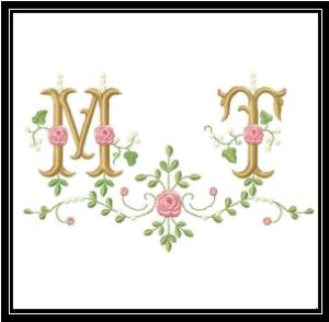Rose-Monogram