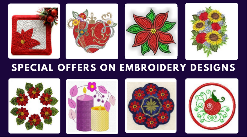 Grab Special Offers On Embroidery Designs At Opw Mall Machine