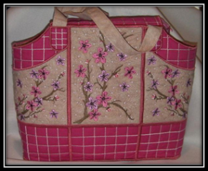 ITH Cherry Blossom Embroidery Bag