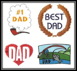 Father Day Machine Embroidery Designs