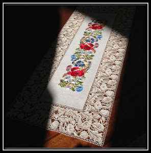 Serenity Table Runner Embroidery Designs