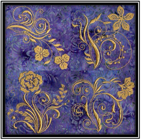 Floral-Golden-Glow-Machine-Embroidery